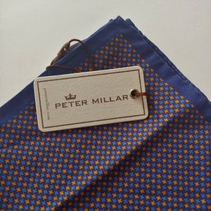 Peter Millar 100% Silk Pocket Square